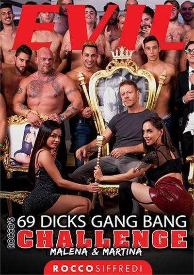 Rocco's 69 Dicks Gang Bang Challenge