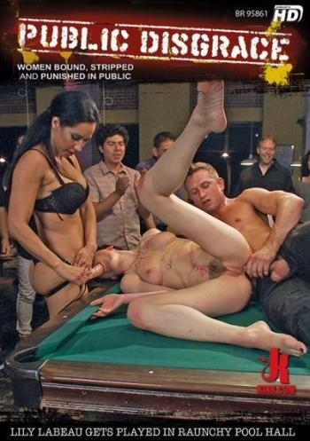 Public Disgrace: Lily LaBeau Gets Played In Raunchy Pool Hall