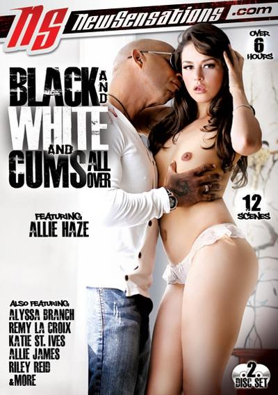Black And White And Cums All Over
