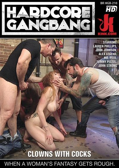 Hardcore Gangbang: Clowns With Cocks