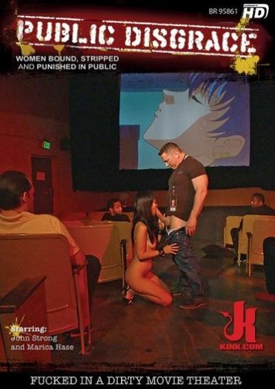 Public Disgrace: Fucked In A Dirty Movie Theater