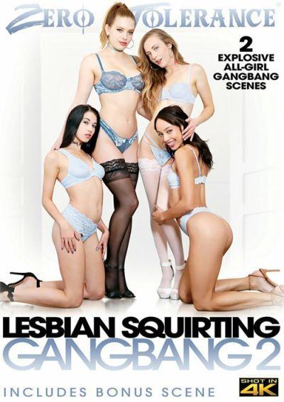 Lesbian Squirting Gangbang 2